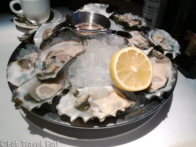 Gulfstream-Los Angeles (Century City), CA: Oysters