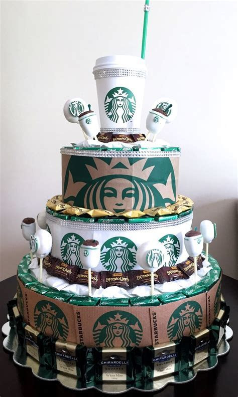 Starbucks Party   Candy Centerpieces by Nicole Fiss