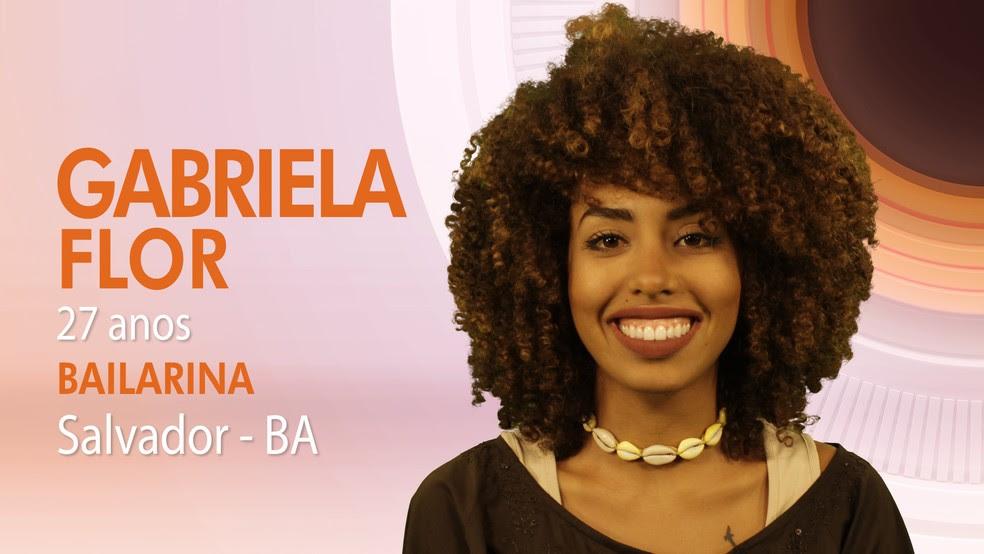 """Gabriela, décima primeira integrante do """"BBB17"""" (Foto: Globo/Divulgação)"""