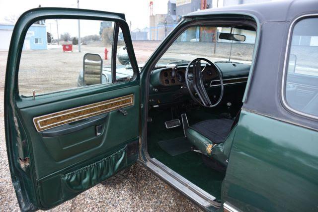 1975 Dodge Ramcharger SE 4x4 440 Big Block Rust Free ...