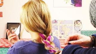 Haare Clip In Strähnen Einfärben Diy Ganz Schnell Einen Neuen