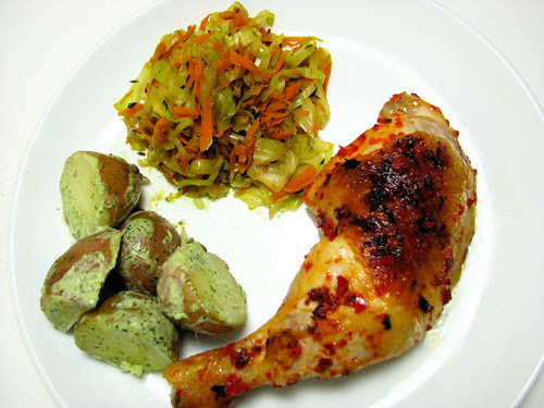 roasted chicken sambal oelek recipe