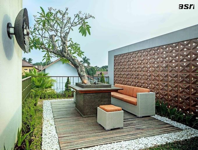 Design Halaman Depan Rumah Jadi Ruang Tamu | Ide Rumah Minimalis