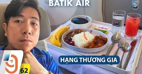 [M9] #62: Bay hạng thương gia Batik Air & ở resort có hồ bơi riêng | Yêu Máy Bay