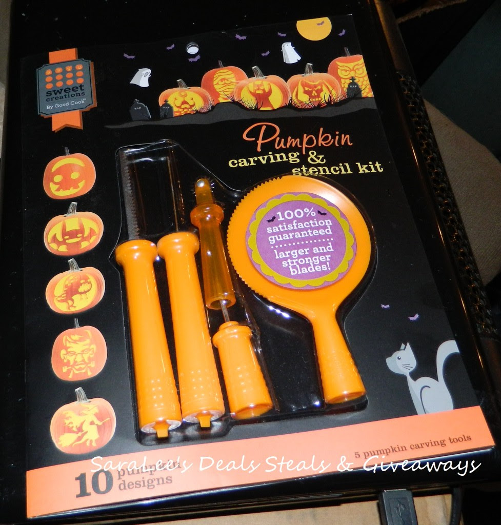 Sweet Creations Pumpkin Carving Kit