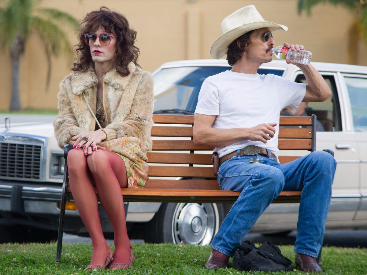 "At last, he came across a script that gripped him by the throat. ""I'd heard about ['Dallas Buyers Club'] before — and I'd even ignored a few emails about it,"" Leto says. ""Eventually, I took a look at it, and I just fell in love with the opportunity and the role."""