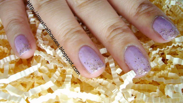 sally hansen gem crush big money essie nice is nice 4