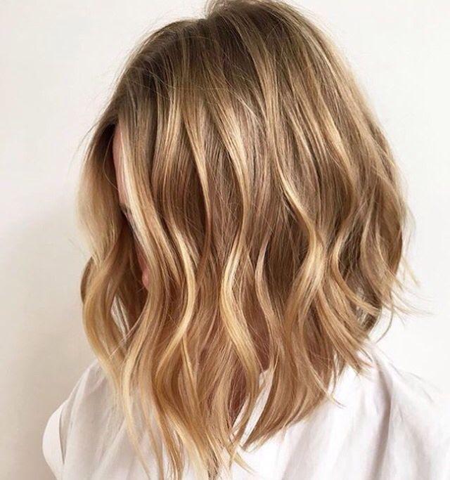 Best Hairstyles For 2017 2018 Honey Blonde Balayage Flashmode