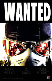 Wanted comic book cover