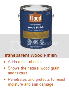 Transparent Wood Finish