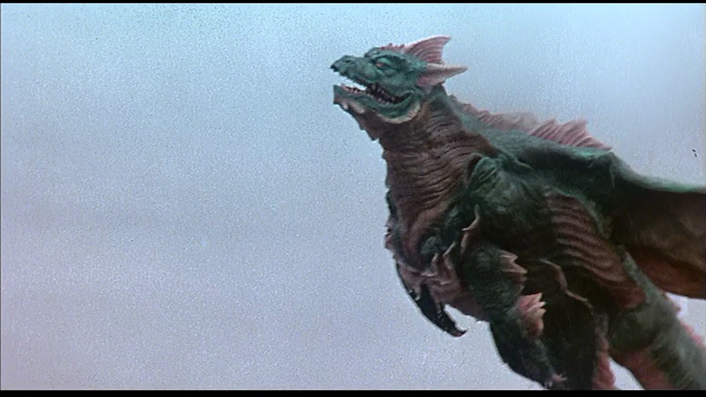 Because flight and swimming go so well together, especially in kaiju