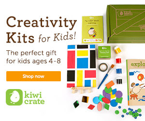 Give the gift of creativity with Kiwi Crate!