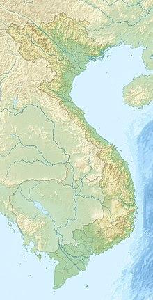 Tháp Nhạn trên bản đồ Việt Nam