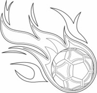 Soccer Ball IN Flames stock photos  FreeImages.com