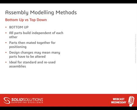Top Down Modelling Best Practice