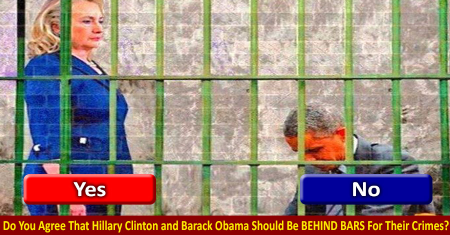 Image result for clinton and obama behind bars