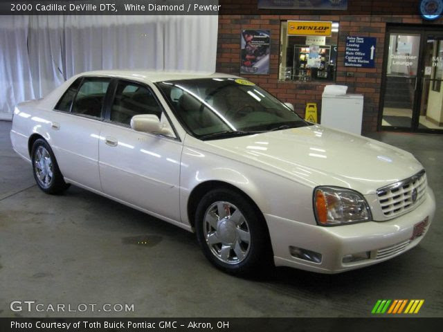 White Diamond - 2000 Cadillac DeVille DTS - Pewter ...