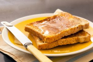 Toast and honey diet