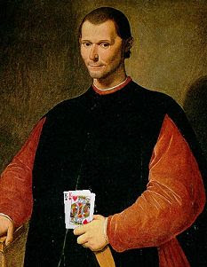 Machiavelli with kings