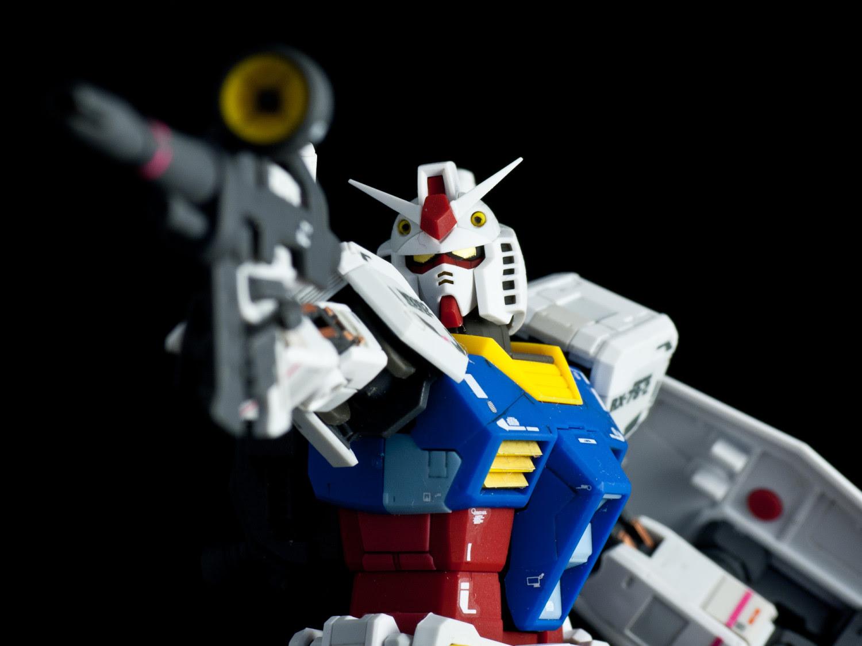 Review Real Grade Rx 78 2 Gundam Hobby Hovel