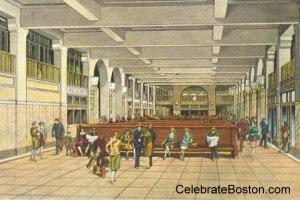 Boston Garden North Station Waiting Area