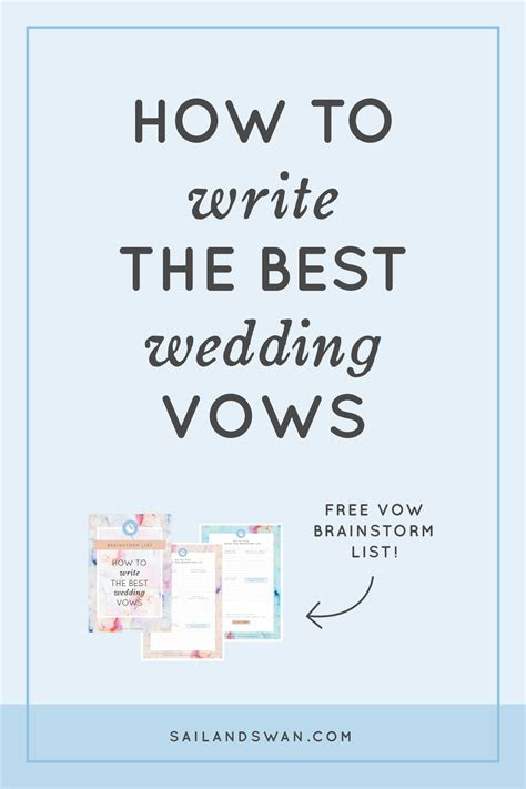 How to Write the Best Wedding Vows   Wedding Vow Examples