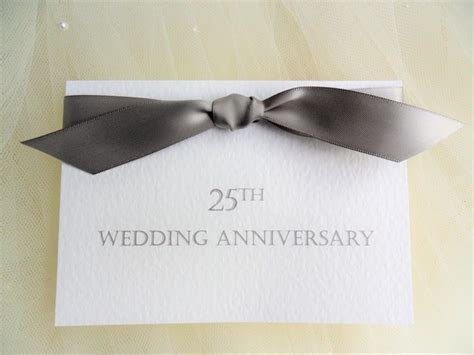Top Ribbon Wedding Anniversary Invitations from £1 each