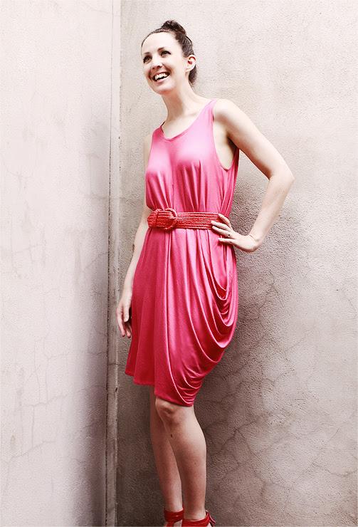 Pink Drape Drape