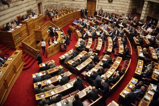 `Βόμβες` στη Βουλή! Παπανδρέου και Κακλαμάνης καταψήφισαν κυβερνητικό άρθρο - Η απουσία `μήνυμα` του Κώστα Καραμανλή προς τον Σαμαρά