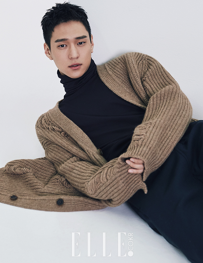 Go Kyung Pyo - Elle Magazine October Issue '16