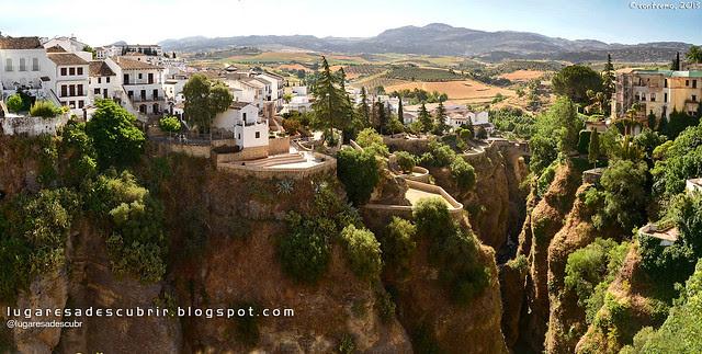 El Tajo de Ronda (Málaga, España)