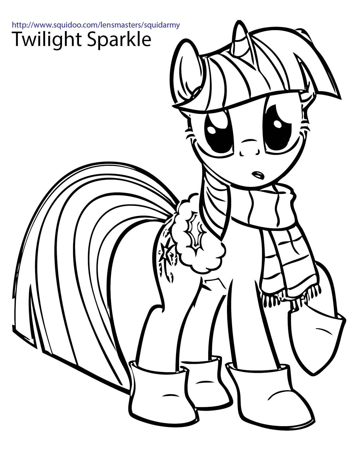 Pony Coloring Pages Free Download Best Pony Coloring Pages On