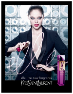 Yves Saint Laurent Elle Ad featuring Coco Rocha