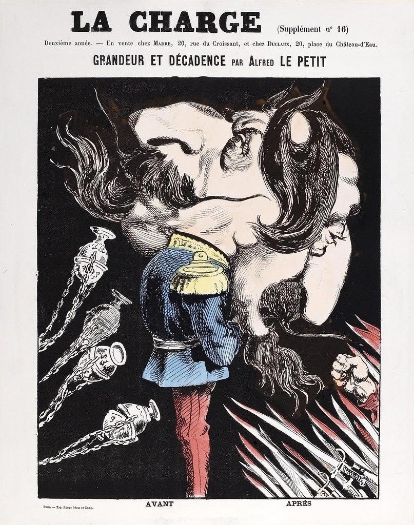 La Charge - Grandeur et Decadence par Alfred Le Petit