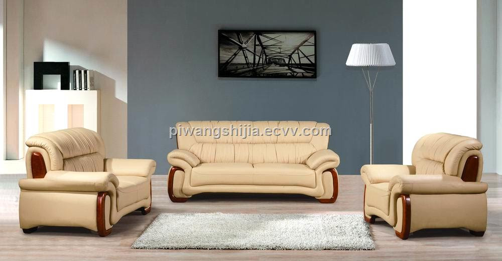leather living room sofa A2063 (A2063) - China leisure sofa 1+2+3 ...