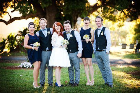 Janine and Kiel's Quirky Country Wedding   Polka Dot Bride