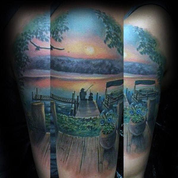 100 Memorial Tattoos For Men Timeless Tribute Design Ideas