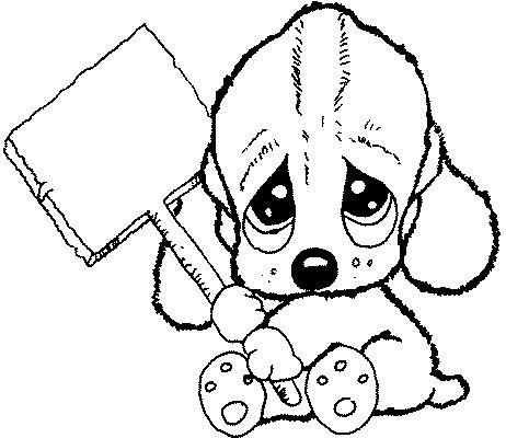 Dibujo Perritos Bebé Imagui
