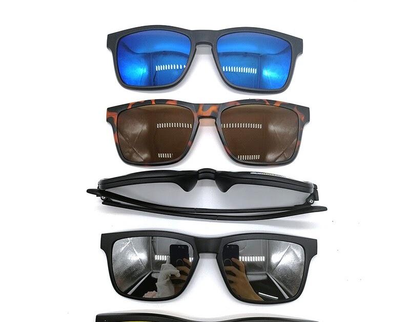 eeb8664a43 Comprar Gafas De Sol Con Clip Polarizadas Magnéticas 5 Unids Para Conducir  Noche Online Baratos | ringolp
