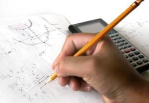 الرياضيات على الورق