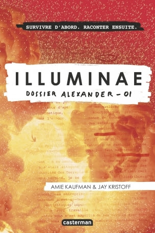 Couverture Illuminae, tome 1 : Dossier Alexander