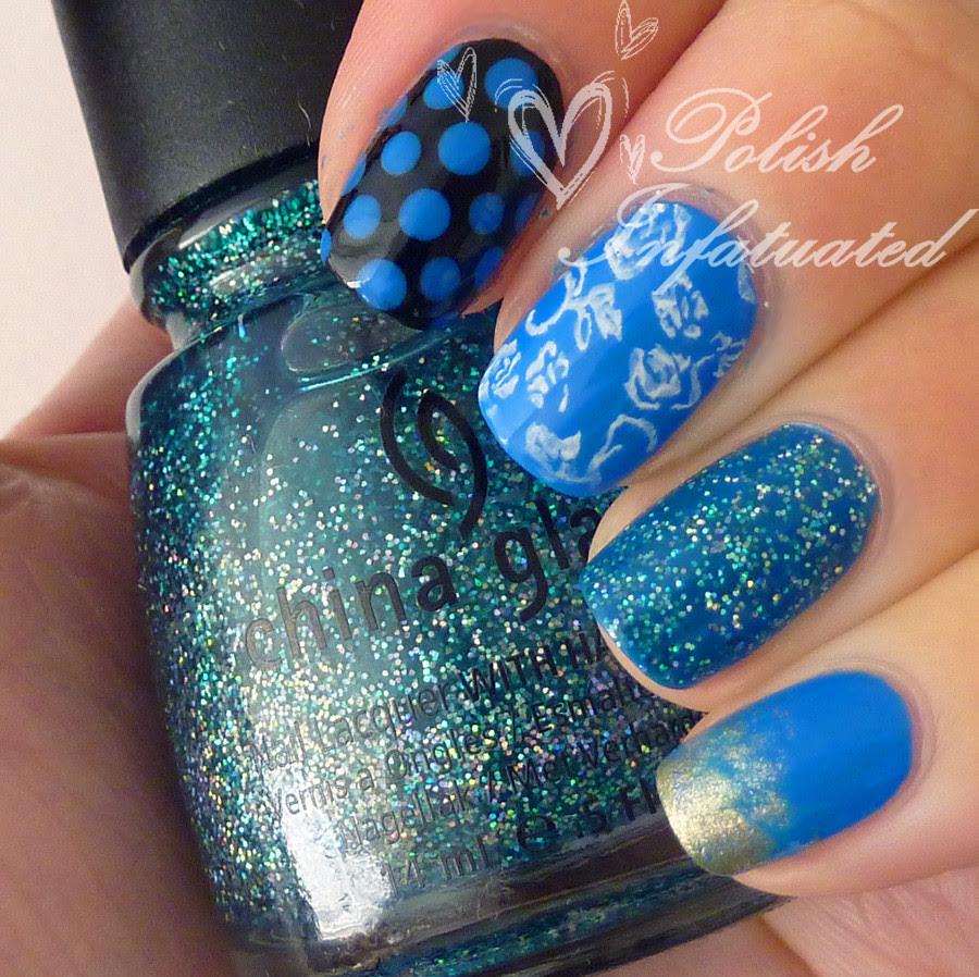 the blues-polka dot, flowers, butterflies and glitter1