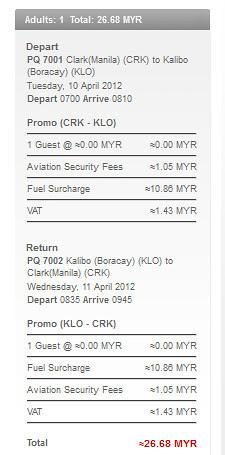 AirAsia Clark - Kalibo (Boracay)