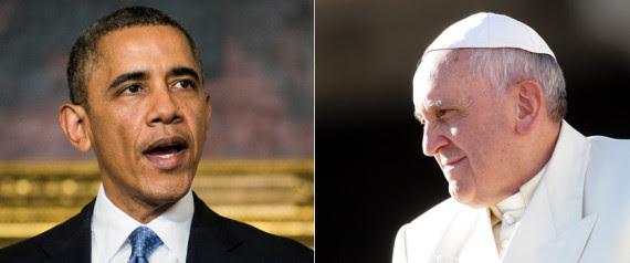 obama quotes pope