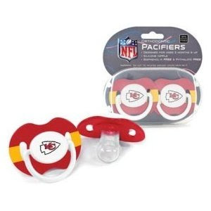 NFL Kansas City Chiefs 2 Pack Pacifier