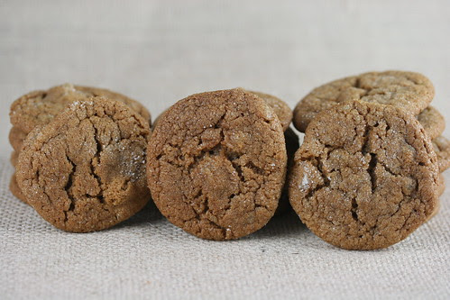 Food Librarian - Ginger Spice Cookies (Bon Appetit)