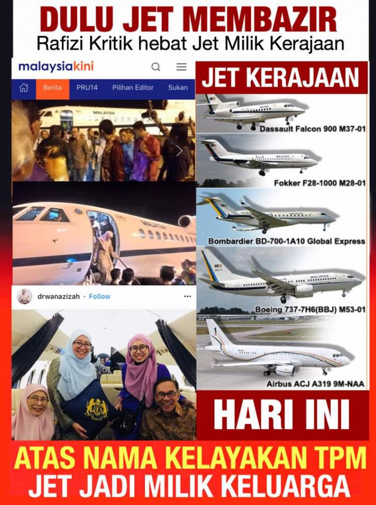 Image result for wan azizah jet