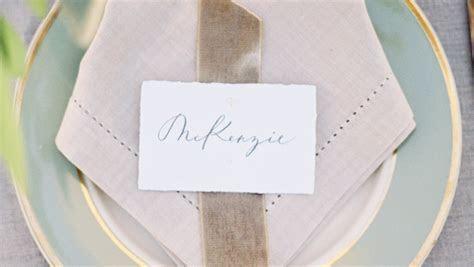 Wedding Place Cards   Martha Stewart Weddings