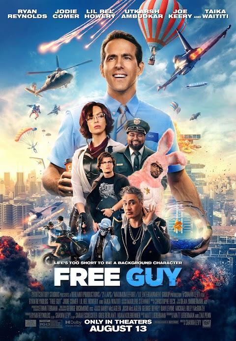 Free Guy (2021) 480p 720p 1080p WebRip Dual Audio (Hindi(cam)+English) Full Movie