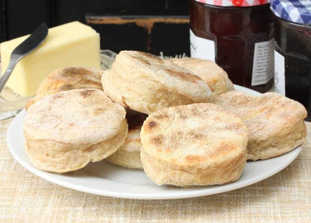 Homemade English Muffins  How To Feed A Loon